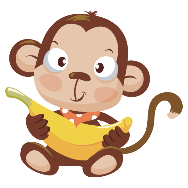 Monkey in a tree clipart clipart transparent Baby Girl Monkey Clipart at GetDrawings.com | Free for personal use ... clipart transparent
