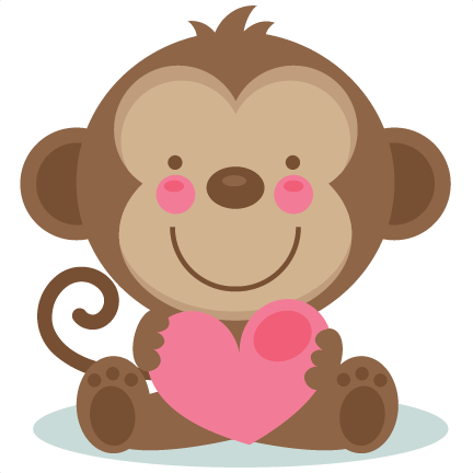 Monkey love clipart png transparent stock Monkey Love Cliparts - Cliparts Zone png transparent stock