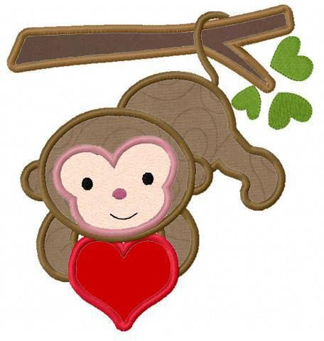 Monkey love clipart vector freeuse stock Free Monkey Love Cliparts, Download Free Clip Art, Free Clip ... vector freeuse stock