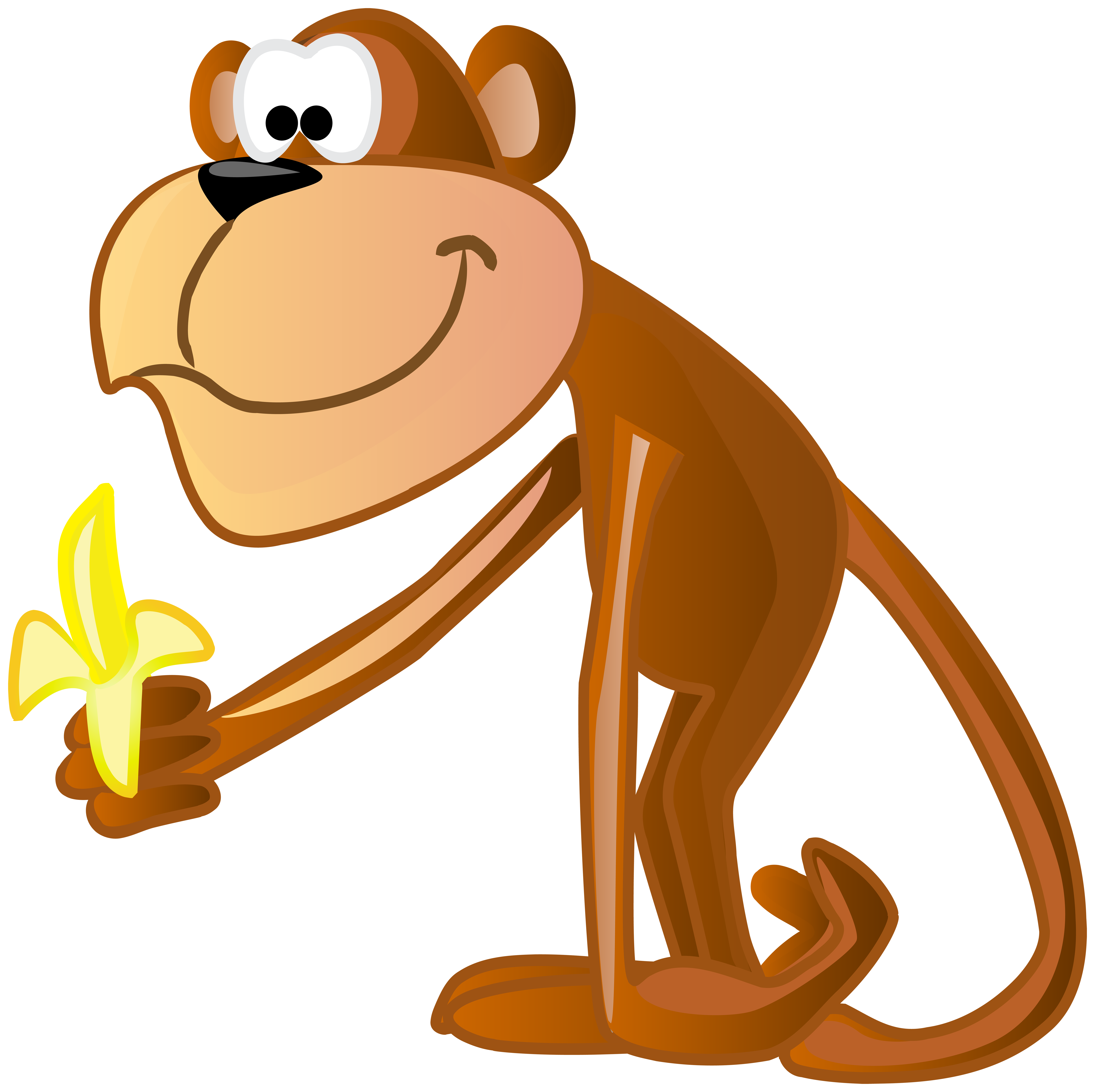 Monkey on tree clipart graphic transparent Monkey Clipart For Kids at GetDrawings.com | Free for personal use ... graphic transparent