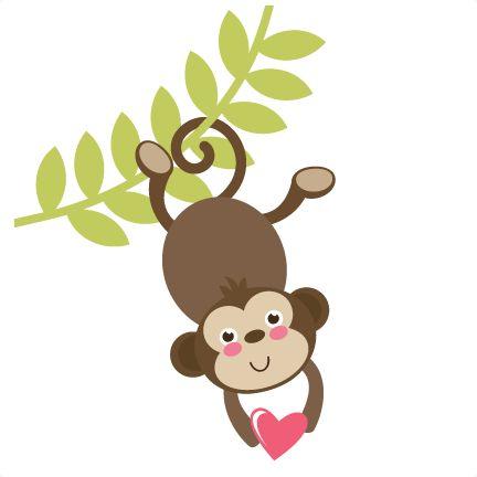 Monkey on vine clipart image free Monkey on vine clipart - Clip Art Library image free