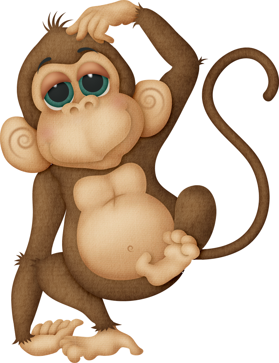 Monkey reading a book clipart clip free download mim_wt_monkey.png (1092×1421) | Political Artist Catalexisjazz ... clip free download