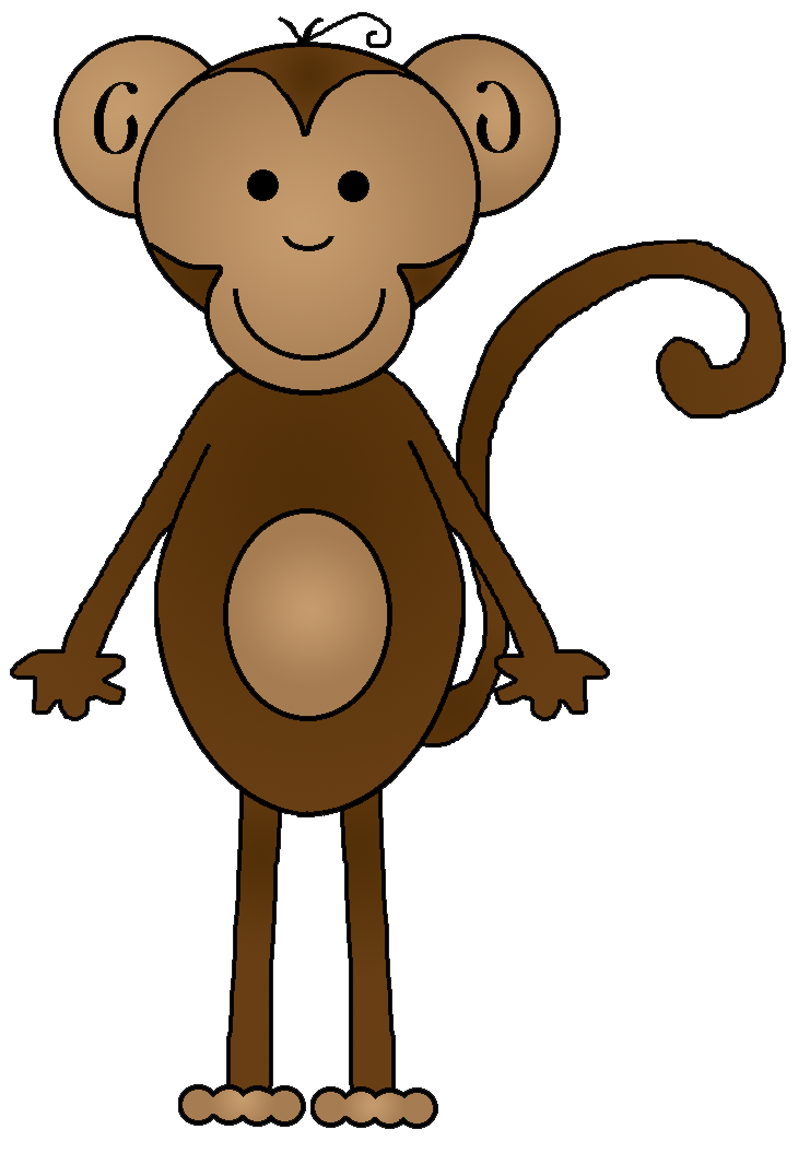 Monkey reading a book clipart jpg royalty free stock Graphics by Ruth - Monkeys jpg royalty free stock