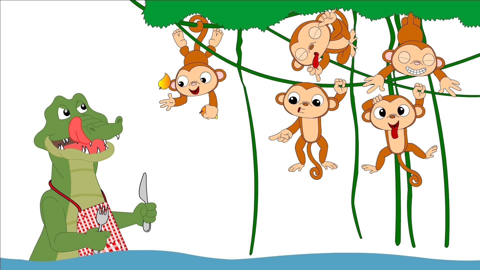 Monkeys swinging in the tree aligator clipart picture library Here is a real snappy song for kids. Here are the lyrics ... picture library