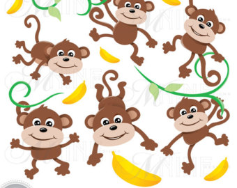 Where are the monkeys clipart clip black and white MONKEYS Clip Art: Monkey | Clipart Panda - Free Clipart Images clip black and white