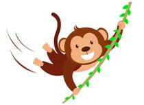 Monkey clipart jpg free library Free Monkey Clipart - Clip Art Pictures - Graphics ... jpg free library