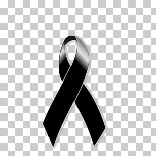 Mono de luto clipart svg royalty free library Black ribbon Mourning Grief Lazo, symbol PNG clipart | free ... svg royalty free library