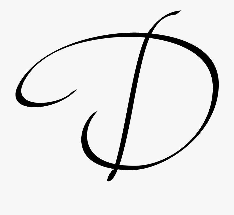 Monogram d clipart black and white library Monogram Letter D - Letter Monograms Png #1621640 - Free Cliparts on ... black and white library
