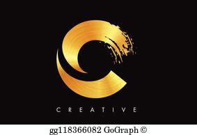 Monogram letter c b together free clipart graphic freeuse stock Royalty Free Gold Black Font Letter C Clip Art - GoGraph graphic freeuse stock