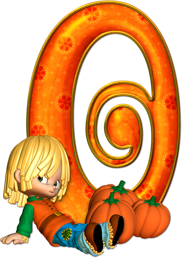 Pumpkin clipart for monogram png library stock ✿⁀ ᎯϦC ‿✿⁀   Letras   Pinterest   Number fonts and Clip art png library stock
