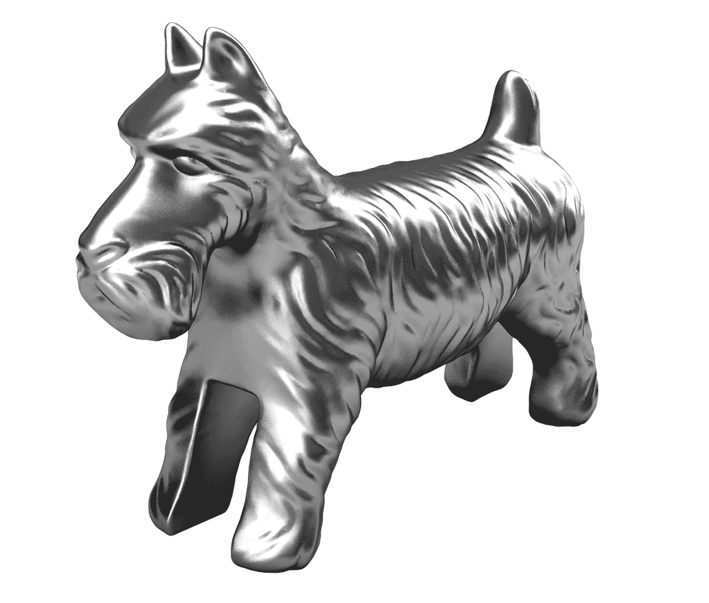 Scottie dog clipart picture royalty free The Adoption Exchange | Monopoly | Pinterest | Monopoly, Childhood ... picture royalty free