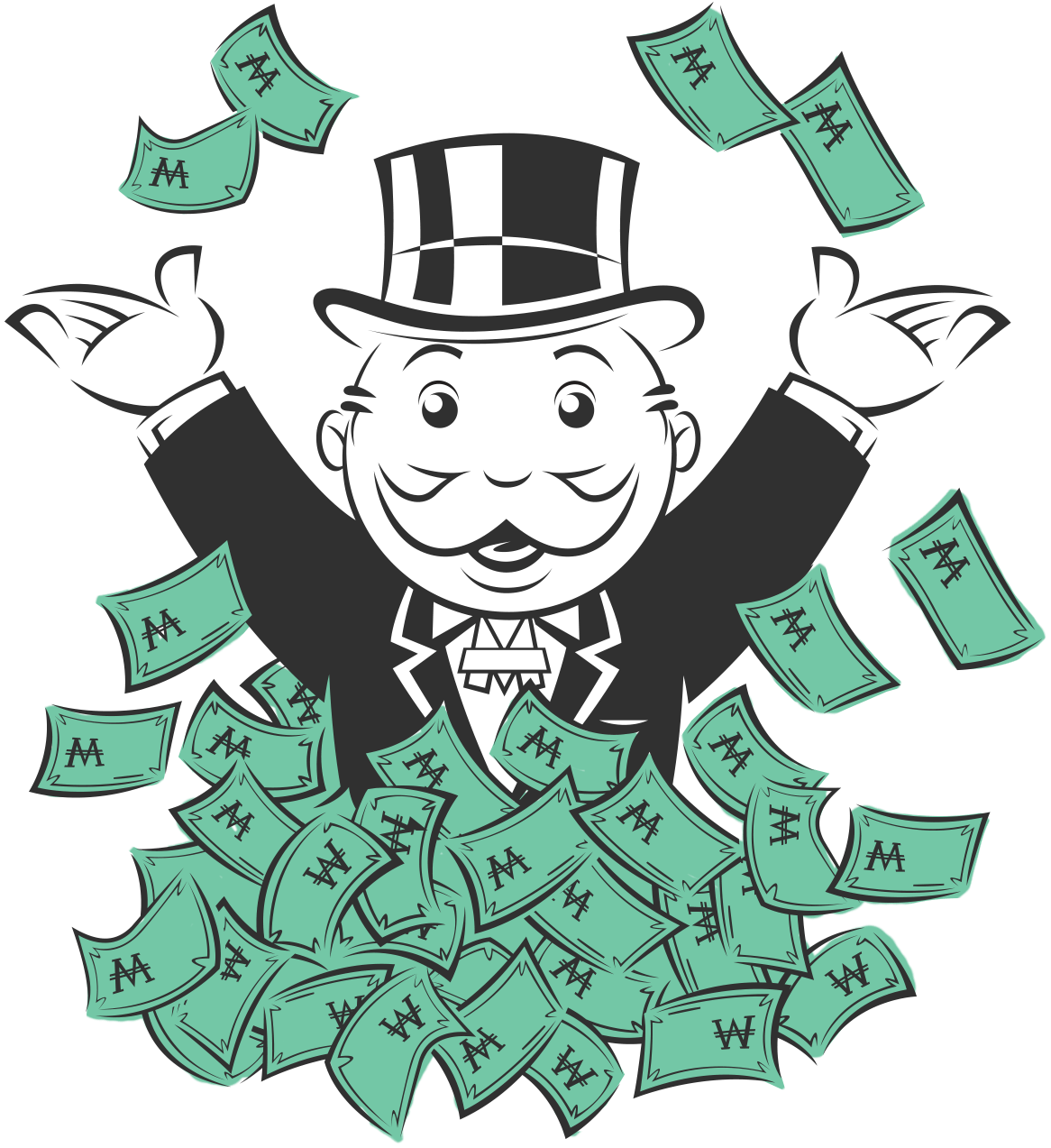 Monopoly money clipart library Untitled on emaze library