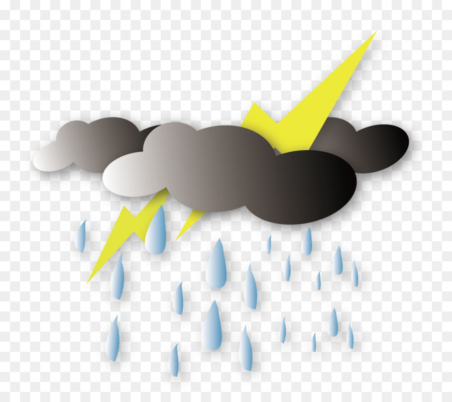 Monsoon clipart black and white download Rain Cartoon png download - 952*828 - Free Transparent ... black and white download