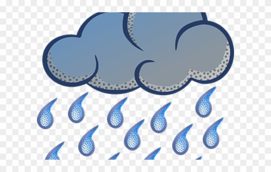 Monsoon clipart svg library library Weather Clipart Monsoon Season - Rain Cloud Clipart ... svg library library