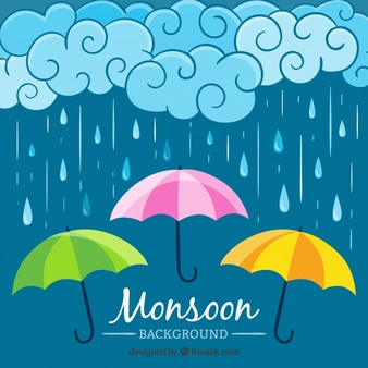 Umbrella and rain clipart vector graphic library download Monsoon Vectors, Photos and PSD files | Free Download graphic library download