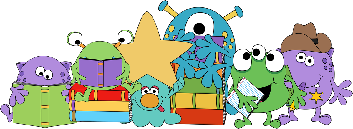 Monster book clipart picture transparent library 28+ Collection of Reading Monster Clipart | High quality, free ... picture transparent library