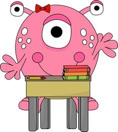 Monster clipart for teachers vector stock 40 Best Monster Clipart images in 2018 | Monster Party, Cute ... vector stock