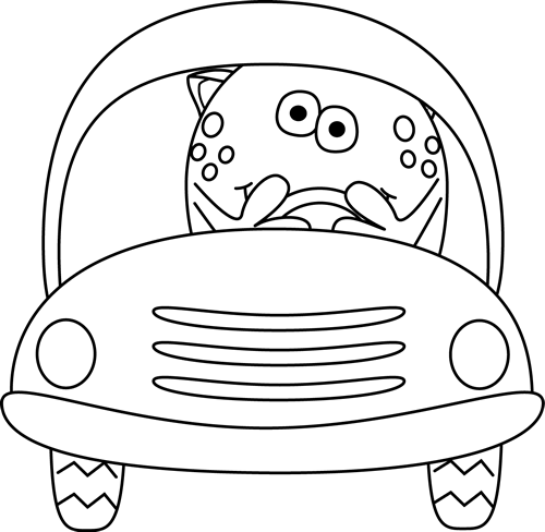 Monster driving car of car clipart png royalty free download Car Clip Art - Car Images png royalty free download