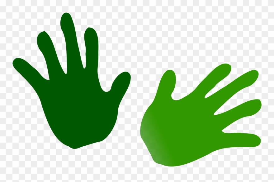 Monster hands clipart clipart black and white library Net » Clip Art » Green Hands Svg - Desenho De Mãos Coloridas - Png ... clipart black and white library