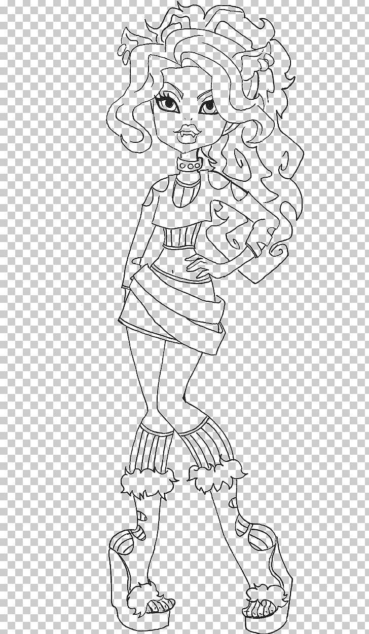 Monster high black and white clipart jpg library download Monster High Clawdeen Wolf Doll Monster High Clawdeen Wolf Doll ... jpg library download