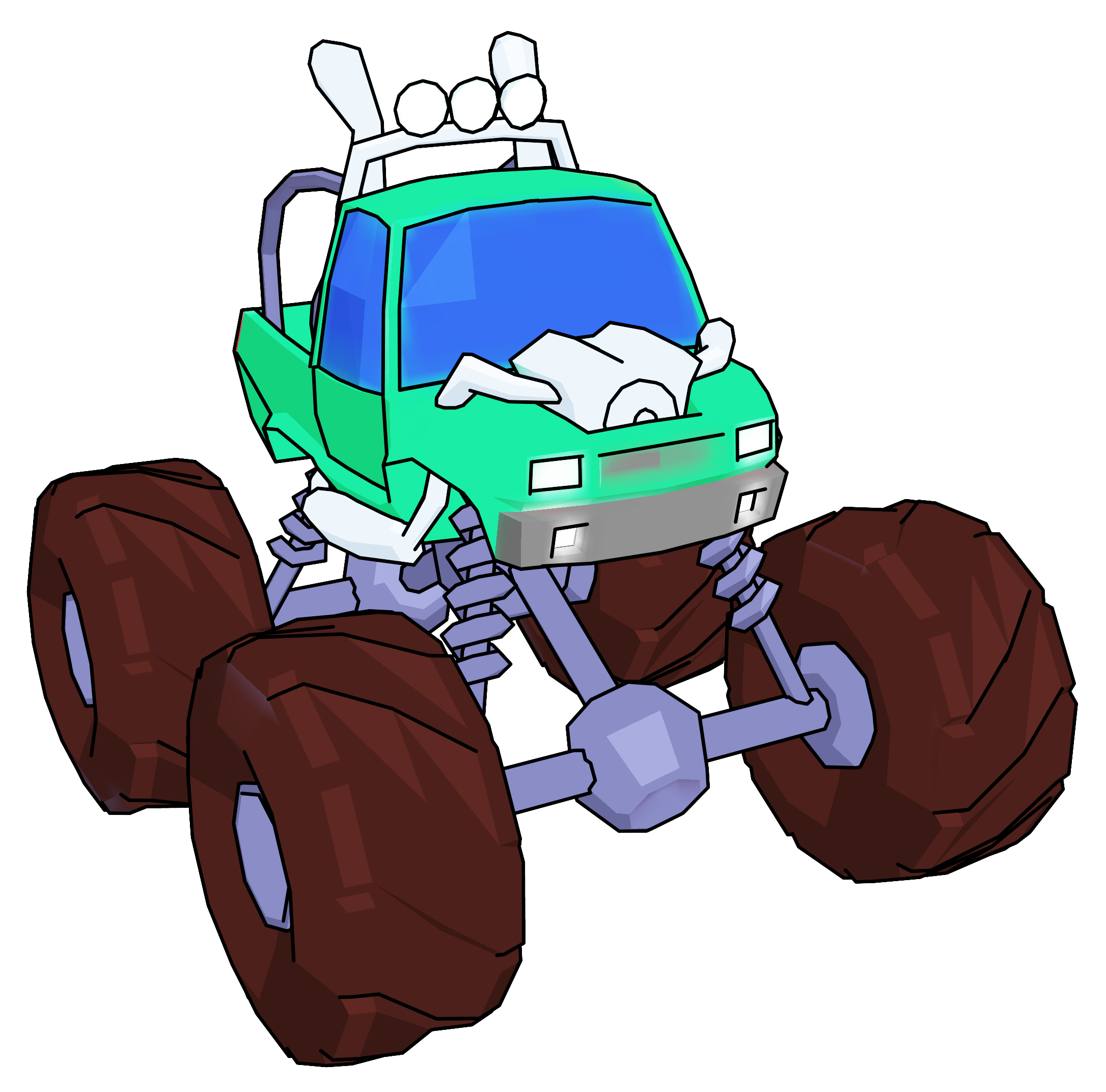 Monster house clipart free Monster Truck Cartoon Perspective Png Clipart Picture - Clipartly ... free