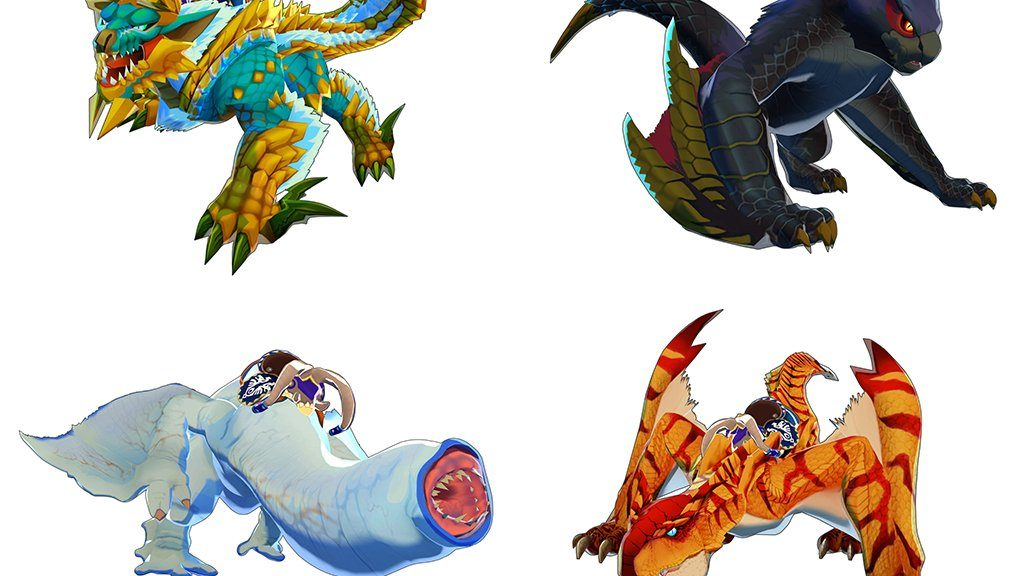 Monster hunter stories clipart picture library Pre-Order Monster Hunter Stories From Amazon And Get An Exclusive ... picture library