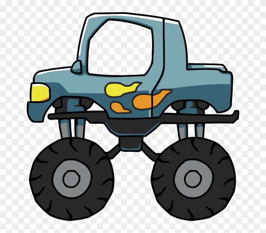 Monster truck pictures clipart free library Elemental Clipart Truck - Clipart Monster Truck Png ... free library