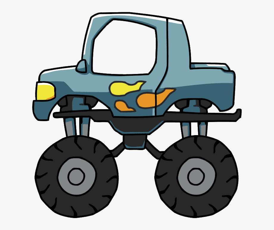 Monster trucks clipart image free Monster Truck - Transparent Monster Truck Png #173611 - Free ... image free