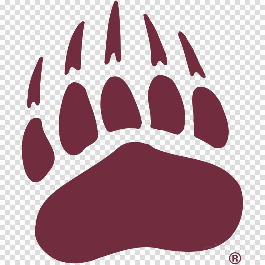 Montana clipart clipart black and white library Download montana grizzlies paw clipart University of Montana Montana ... clipart black and white library