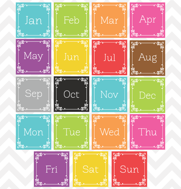 Month clip art image library stock Month Clip Art For Teachers | Clipart Panda - Free Clipart Images image library stock