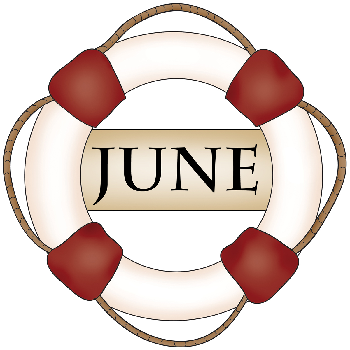 Month june clipart banner black and white download Month of June Clip Art – Clipart Free Download banner black and white download