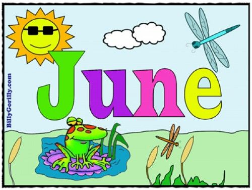Month june clipart picture library library 17 Best images about Calendar - June on Pinterest | Clip art ... picture library library