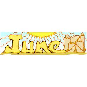 Month june clipart vector royalty free Month Of June Clipart - Clipart Kid vector royalty free