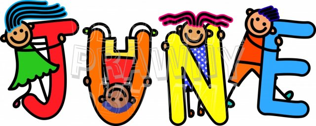 Month june clipart picture freeuse stock June Kids - Month of the Year Clip Art – Prawny Clipart Cartoons ... picture freeuse stock