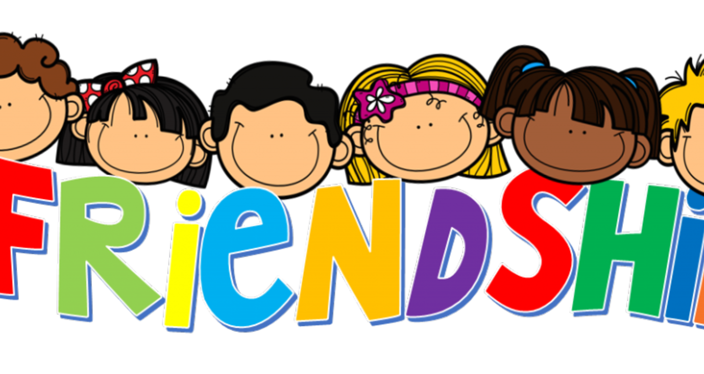 Friends school clipart clip royalty free Friendship Day Month February School - friends 1430*760 transprent ... clip royalty free