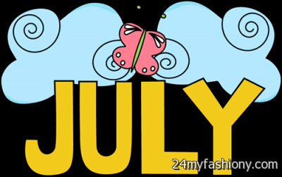 Month of july clipart picture black and white library Month Of July Clipart images 2016-2017 » B2B Fashion picture black and white library