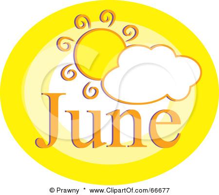 Month of june clip art clip freeuse June Clipart - Clipart Kid clip freeuse