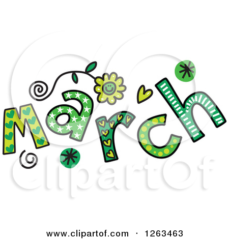 Month of march clip art library March free clipart images - ClipartFest library