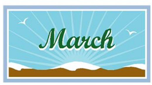 Month of march clip art clip art black and white download March Clip Art For Calendars   Clipart Panda - Free Clipart Images clip art black and white download
