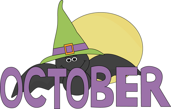 Month of october clipart jpg free stock October Clip Art - October Images - Month of October Clip Art jpg free stock