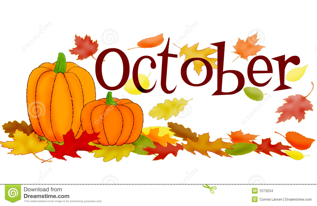 Month of october clipart picture transparent Free clipart month october - ClipartFest picture transparent