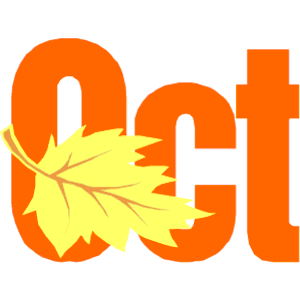 Month of october clipart image download Month of october clipart free clipart images image 4 - Clipartix image download