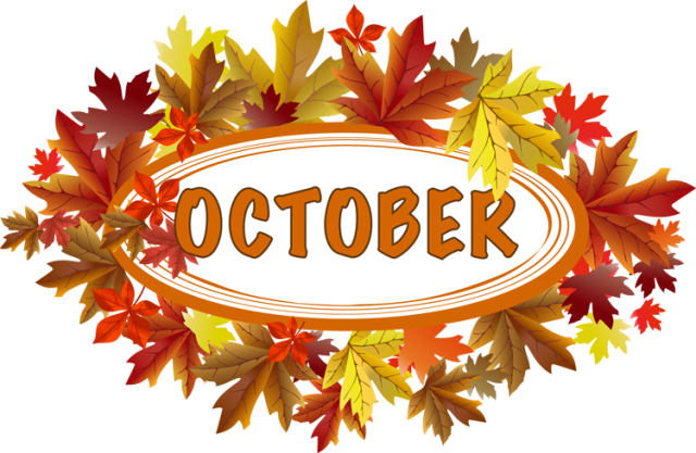 Month of october clipart clip royalty free stock Clip Art and Fun Facts About The Month Of October clip royalty free stock