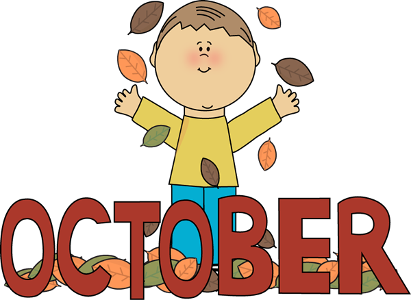 Month of october clipart clipart black and white Month Of October Clipart - Clipart Kid clipart black and white
