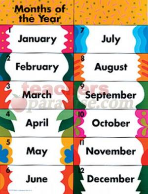 Month of the year clipart clip art royalty free download Months Of The Year Clipart - Clipart Kid clip art royalty free download