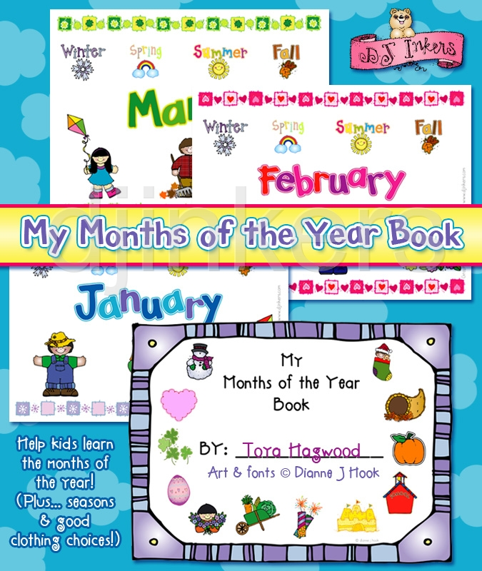 Month of the year clipart graphic royalty free stock Months Of The Year Clipart - Clipart Kid graphic royalty free stock