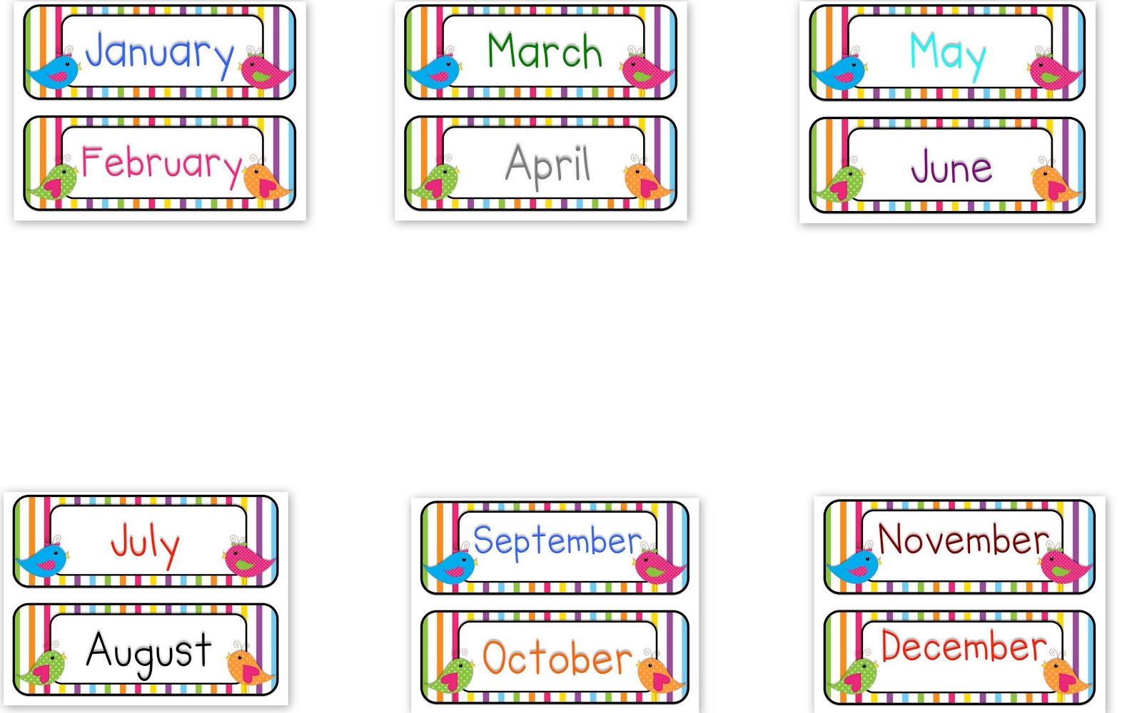Month of the year clipart png royalty free library Months Of The Year Clipart & Months Of The Year Clip Art Images ... png royalty free library