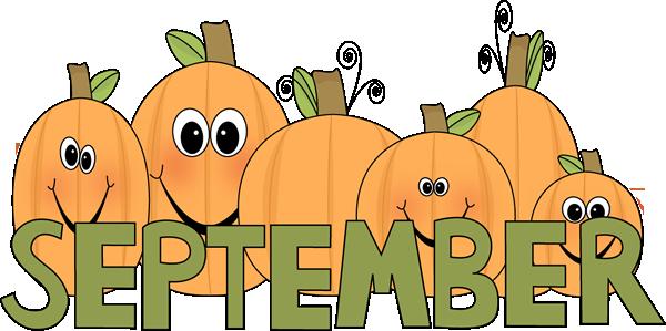 Month september clipart banner stock September Clip Art - September Images - Month of September Clip Art banner stock
