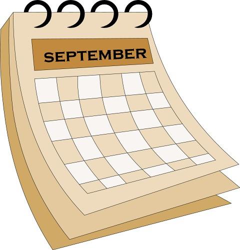 Month september clipart png September month calendar clipart - ClipartFox png
