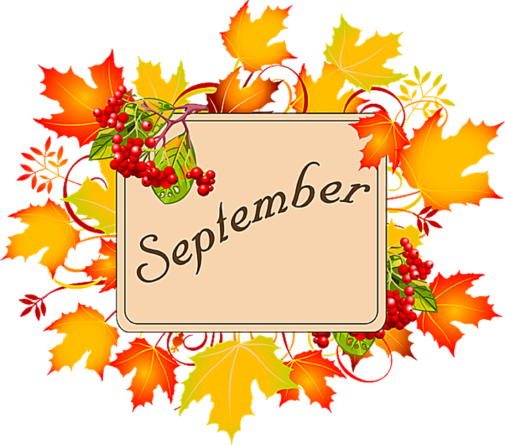 Month september clipart png black and white stock September Holidays Clip Art png black and white stock